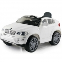 Elektromobilis BMW X6 12V su distanciniu valdymu Baltas