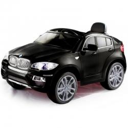 Elektromobilis BMW X6 12V su distanciniu valdymu Juodas
