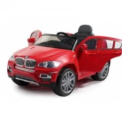 Elektromobilis BMW X6 12V su distanciniu valdymu Raudonas
