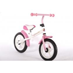 Balansinis dviratukas white pink