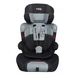 Automobilinė saugos kėdutė AGA DESIGN YKO EASY 9-36 kg grey