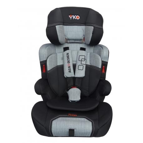 Automobilinė saugos kėdutė AGA DESIGN YKO EASY 9-36 kg