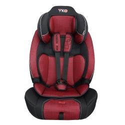 Automobilinė saugos kėdutė AGA DESIGN YKO SOFT 9-36 kg red
