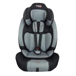 Automobilinė saugos kėdutė AGA DESIGN YKO SOFT 9-36 kg grey