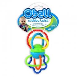 OBALL žaislas barškantis Clickity Twist