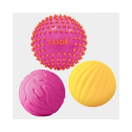 Ludi sensoriniai kamuoliukai