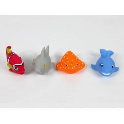 Ludi vonios žaislai žuvys