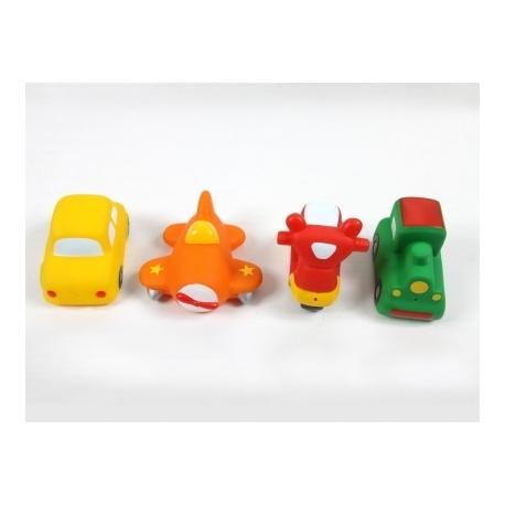 Ludi vonios žaislai transportas