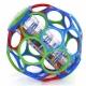OBALL kamuoliukas su barškučiu