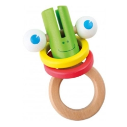 LGL Medinis žaisliukas varlė