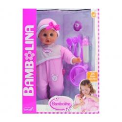 BAMBOLINA kalbanti lėlė Bebe (24 žodžių)