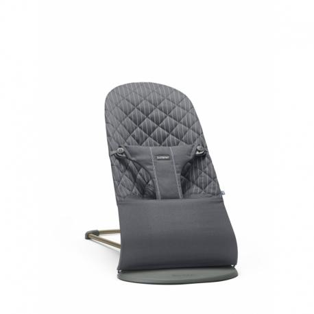 BABYBJÖRN gultukas Bliss Grey/Pinstripe Cotton