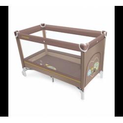 BABY DESIGN SIMPLE maniežas rudas