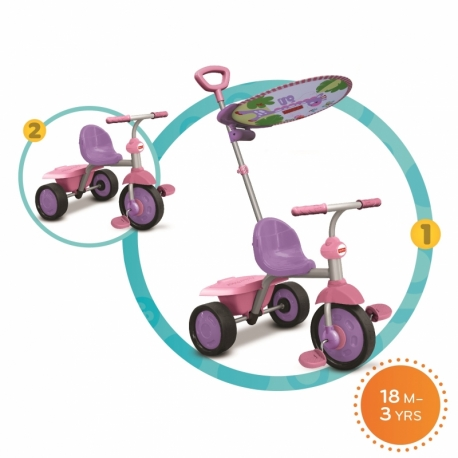 FISHER PRICE triratukas Glee Plus 2 IN 1