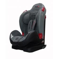 Automobilinė saugos kėdutė PERO GROSSO ISOFIX 9-25 kg GREY