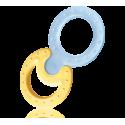 NUK Cool atvėsinamas kramtymo žiedas Classic ir Cool versijos