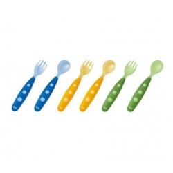 NUK EASY LEARNING maitinimo įrankiai