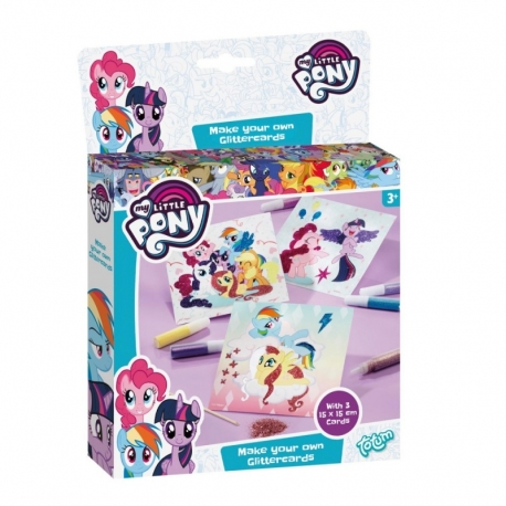 My Little Pony rinkinys Blizgančios kortelės