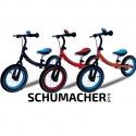 Balansinis dviratukas Schumacher Kid su pripučiamais ratais