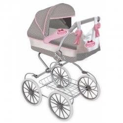 BAMBOLINA Boutique lėlių vežimėlis klasikinis