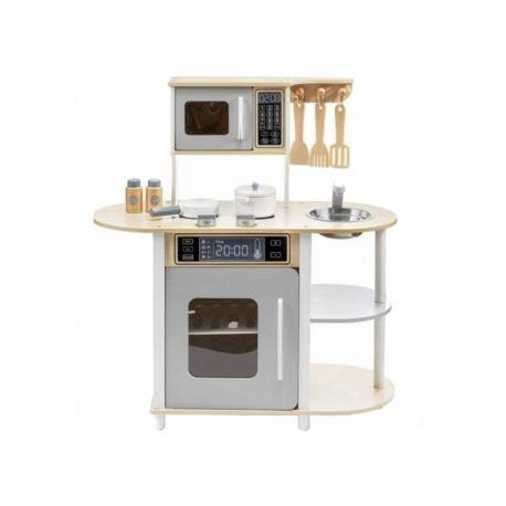 Medinė virtuvėlė su priedais 22568