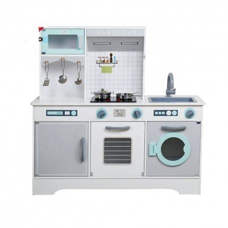 Medinė virtuvėlė su priedais 22573