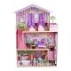 Medinis lėlių namas su apšvietimu 22577