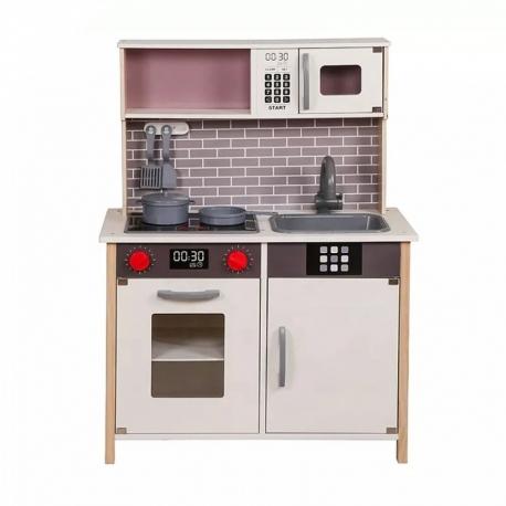Medinė virtuvėlė su priedais 22569