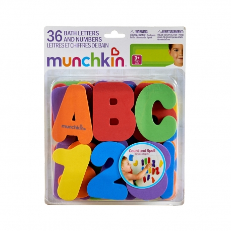 Munchkin raidės+skaičiai